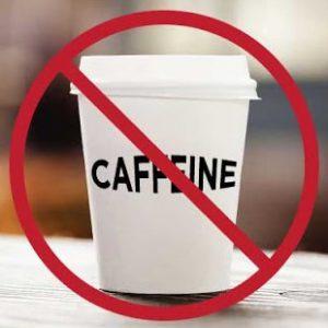 Pastikan untuk tidak konsumsi makanan minuman yang mengandung kafein sebelum tidur